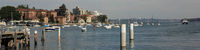 Boats in Manly harbor, Sydney.