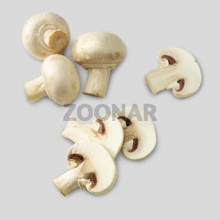 Campignon mushroom slices