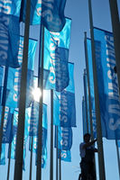Hoisting the Samsung flag.jpg