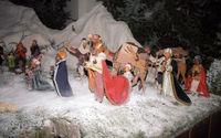 Nativity Scene, Heilig Geist, Lindenstr, Cologne, Neustadt-Süd, NRW, Rhineland