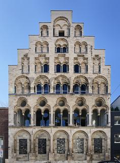 Overstolzenhaus, eines der aeltesten Patrizierhaeuser in Deutschland in der Koelner Altstadt