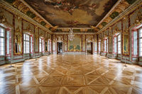 The Gold Hall of Rundale Palace