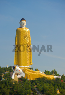 Giant Standing and Reclining Buddhas, Monywa, Myanmar