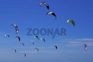 Kite Surf Challenge, Bayeux-sur-Mer, Picardie, France