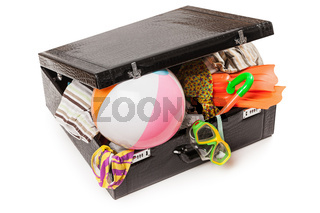 Travel luggage suitcase