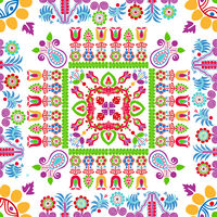 Hungarian embroidery pattern 85