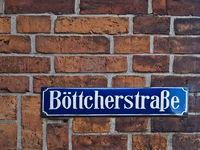 Boettcherstrasse Street Sign, Germany