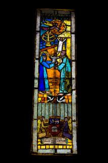 Kirchenfenster,  Lothringen, Frankreich