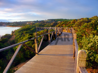 Australia Coastline Boardwalk