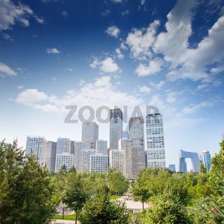 landscape of modern city ,China