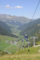 Gletscherbahn Tuxer Tal