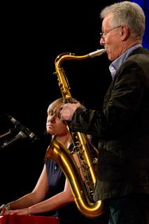 Günther Fischer und Tochter Laura Fischer im Konze