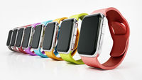 Generic smartwatches isolated on white background. 3D illustration