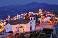 Portugal: Marvão with night illumination