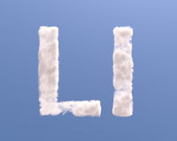 Letter L cloud shape