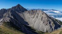 Peak Reither Spitze in Tyrol Austria