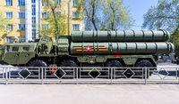 Russian anti-aircraft missile system (SAM) S-400 Triumph