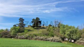Der Kleine Rummelsberg beim Ökodorf Brodowin im Frühling
