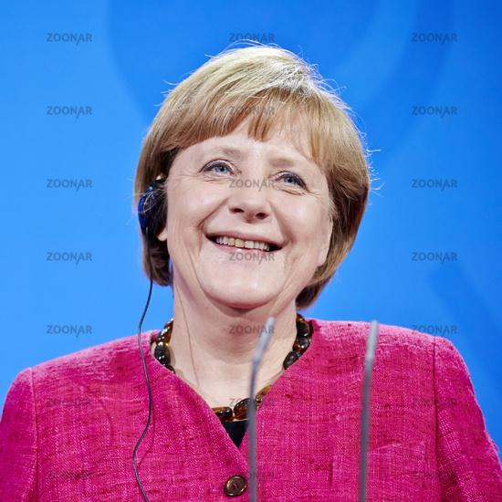 portrait of angela merkel, german chancellor in 2014