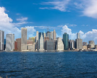 Lower Manhattan skyline view from Brooklyn