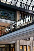 The popular shopping center Mall of Berlin at Leipziger Platz in Berlin