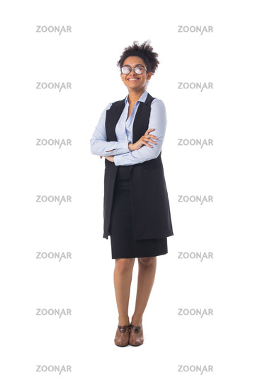 African american young businesswoman