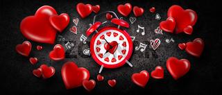 Happy Valentine's Day background. Love and Valentine's Day concept.