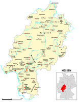 Map of the state of Hesse in German language.eps