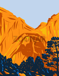 The El Malpais National Monument Located in Western New Mexico WPA Poster Art