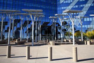 Photovoltaikanlage vor der Stadtverwaltung