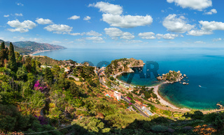 Taormina view from up, Sicily