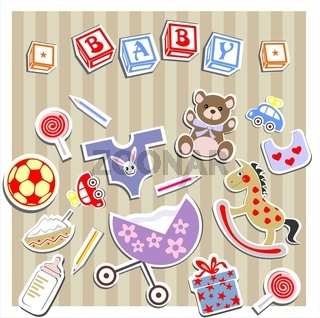 Baby Birtn Greeting Card