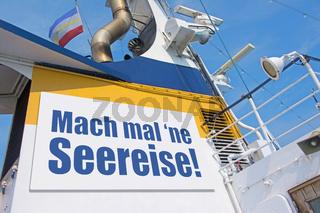 Mach mal 'ne Seereise!