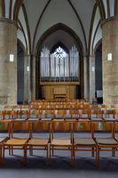 evangelische Neustädter Marienkirche aus dem 15. Jahrhundert - neue Orgel