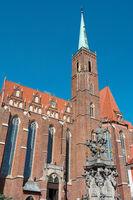 Collegiate Church of the Holy Cross and Saint Bartholomew in Wroclaw (Breslau)