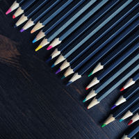 Various colored pencils
