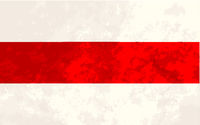 True proportions New Belarus flag with texture