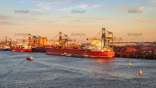 Europort, Port of Rotterdam, South Holland, Netherlands
