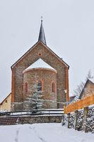 Güntersberge im Harz Winterstimmung