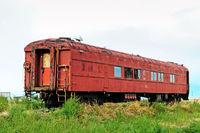 Abandoned old rail car.