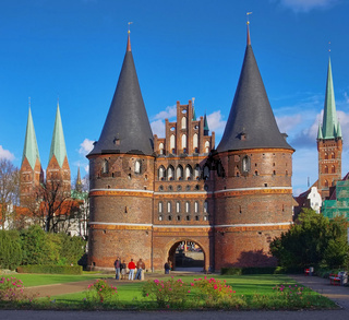 Luebeck Tor - Luebeck Gate 02