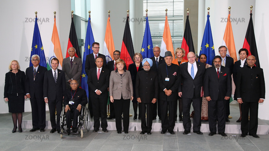 Group picture of 2th Indian-German consultations