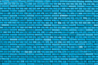 light blue colored brick wall background