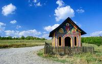 romania shrine blue sky