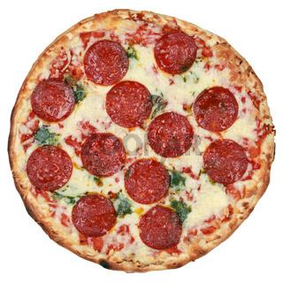 Pizza Salami, Freisteller