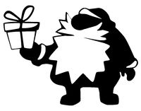 Santa Claus Gift Symbol