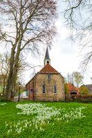 Scenics village Oudeschans in Groningen, The Netherlands