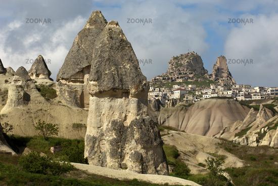Municipality of Uchisar, Cappadocia, Turkey