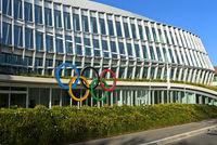 Headquarters of the International Olympic Committee, IOC, Lausanne, Switzerland