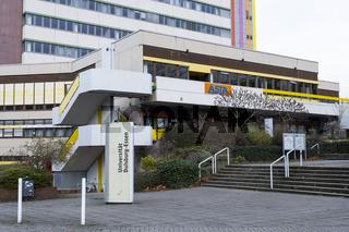 Gebaeude der Universitaet Duisburg-Essen, Essen, Ruhrgebiet, Nordrhein-Westfalen